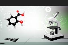 Wissenschaftshintergrund Stockbilder