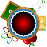 Wissenschaftsikone Lizenzfreies Stockfoto