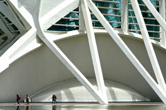 Wissenschaftsstadt von Valencia stockbild