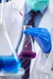 Wissenschaftswerkzeuge für Test und Analyse mit Labor und Biologie lizenzfreie stockfotografie