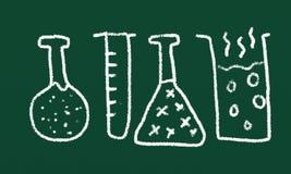 Wissenschaftszeichnung Lizenzfreies Stockfoto