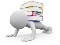 Wissensgewicht stock abbildung
