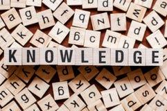 Wissenswortkonzept lizenzfreie stockfotografie