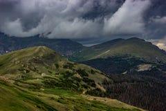 Świstaka punkt Chapin i góra Obrazy Stock