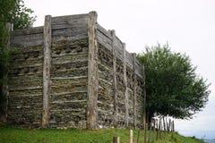 Wistenlacherberg的堡垒 免版税库存图片