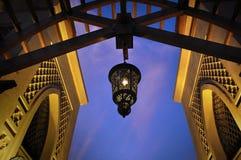 Wisząca arabska lampa zdjęcie royalty free