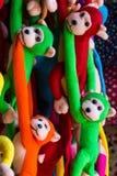 Wisząca małpia lala Fotografia Royalty Free