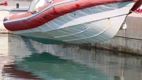Wisząca motorowa łódź zbiory wideo