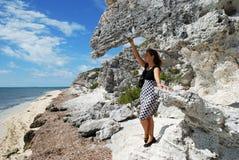 wisząca skała Fotografia Royalty Free