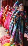 wiszące indyjskie kukły Zdjęcie Royalty Free