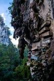 Wiszące trumny w Luzon, Filipiny obraz stock