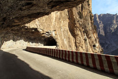 Wiszącej ściany autostrada Fotografia Stock
