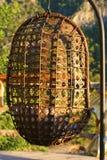 Wiszący żelazny krzesło Zdjęcie Stock
