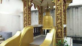 Wiszący dzwony w Wacie Phra Który Doi Suthep przy Chiang Mai, Tajlandia zbiory
