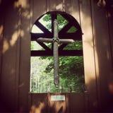 Wiszący krzyż Zdjęcie Royalty Free