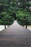Wiszący most zdjęcia stock