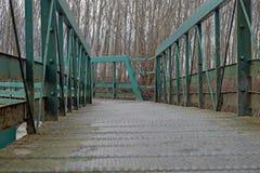 Wisząca ozdoba most Zdjęcia Stock