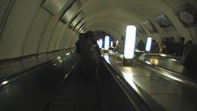 Wisząca ozdoba w Moskwa metrze zdjęcie wideo