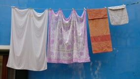 Wisząca pralnia przy Burano obraz royalty free