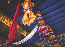 Wiszące Buddyjskie dekoracje Obrazy Stock