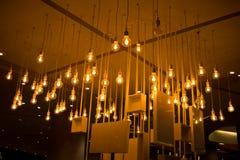 Wiszące lampy na suficie Fotografia Royalty Free