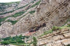 Wiszący monaster Fotografia Royalty Free