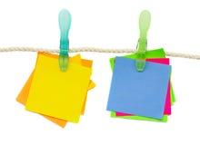 wiszący papieru arkany majchery Zdjęcie Stock