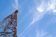 Wiszących ozdób basztowe komunikacyjne anteny Zdjęcia Stock