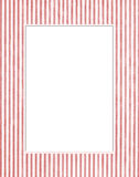 Wit & rood fotoframe Royalty-vrije Stock Foto's