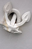 Wit anker Royalty-vrije Stock Afbeeldingen