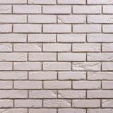 Wit baksteenpatroon als achtergrond royalty-vrije stock foto's