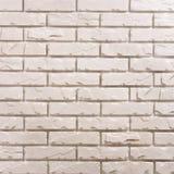 Wit baksteenpatroon als achtergrond stock foto