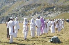 Wit broederschap in Bulgarije stock foto's