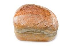 Wit brood van brood dat op wit wordt geïsoleerdt. Royalty-vrije Stock Afbeelding