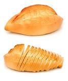 Wit broodje royalty-vrije stock afbeeldingen
