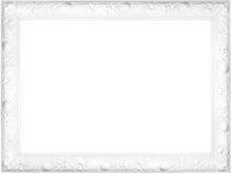 Wit buitensporig frame Royalty-vrije Stock Foto