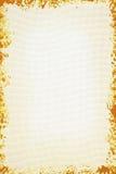 Wit canvas met grungeframe Stock Fotografie