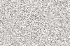 Wit cement en concrete muur voor achtergrond en patroon Royalty-vrije Stock Afbeelding