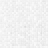 Wit ceramisch de tegelpatroon van de badkamersmuur stock afbeelding