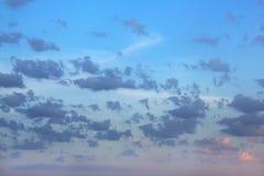świt Chmury Obraz Stock