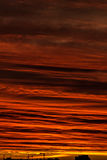 świt Chmury Zdjęcie Stock