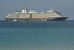 Wit de cruiseschip van de luxe Royalty-vrije Stock Foto's