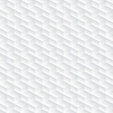 Wit diagonaal in reliëf gemaakt abstract naadloos patroon Royalty-vrije Stock Foto's