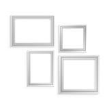 Wit die kader wordt geplaatst voor Royalty-vrije Stock Foto's