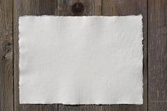 Wit document -, met de hand gemaakt royalty-vrije stock foto's
