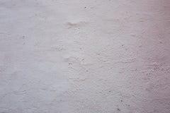 Wit en beige decoratief pleister Stock Fotografie