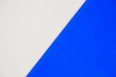 Wit en blauw voor achtergrond Royalty-vrije Stock Afbeeldingen