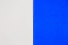 Wit en blauw voor achtergrond Royalty-vrije Stock Foto's