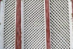 Wit en bruin houten textuurpatroon als achtergrond royalty-vrije stock afbeelding