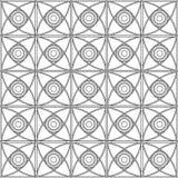 wit en donkerblauw geometrisch achtergrondpatronenpictogram Royalty-vrije Stock Afbeelding